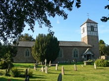 Brimfield, St Michael Church. Please click for all our services and activities